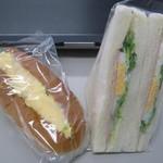 まるじゅう - たまご、サンドイッチ