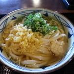 丸亀製麺 - 冷かけうどん(並)