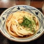 丸亀製麺 - 冷ぶっかけうどん(並)