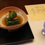 kizunapurasu - 3月のお料理(先附)