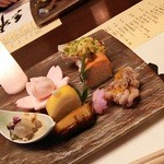 kizunapurasu - 3月のお料理(前菜)