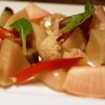 バー オーディン - 自家製有機野菜のピクルス