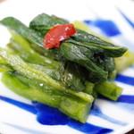 徳丸漬物 - 料理写真:高菜の新芽漬け