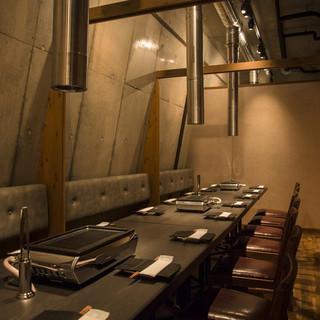限定5室■接待や記念日に人気の個室は恵比寿ヒルトップ店だけ