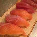 味彩 中々 - お寿司