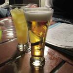 FIVE HUNDRED BAR ムウ - 生ビール