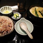 Gyouzanabeachankitashinchi - ブテチゲ定食です。