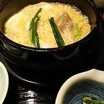 Gyouzanabeachankitashinchi - ブテチゲ。こちらのスープは白湯です。