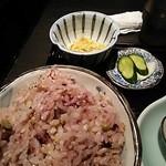 Gyouzanabeachankitashinchi - 雑穀米。大盛り、おかわりOKです。