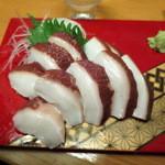 まるきん - タコ頭刺身400円