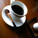 手造りハンバーグの店 - 食後のコーヒー。