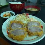 とんかつ 江戸 - ひれかつひれかつ定食
