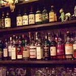 BAR SyuOn  - 2015/3/21  綺麗に並んだボトルたち