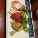 ふくし道産板前料理 - 料理写真:刺身盛り合わせ1500円