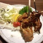 とんど - 藁焼鳥3本盛り<税抜>980円(2015.04.01)