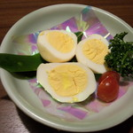 とんど - 燻製玉子<税抜>250円(2015.04.01)