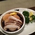 焼肉グレート - ホタテのホイル焼き