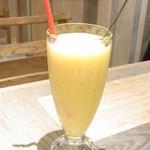 グレイスガーデン - 夜ランチのセットドリンク マンゴー&緑黄色野菜のスムージー☆♪