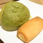 グレイスガーデン - メロンパンとミルククリーム?パン☆♪