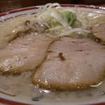 田中そば店 - コッテリ加減はこのぐらい!