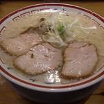 田中そば店 - 中華そば(750円)+大盛(100円)※コッテリ