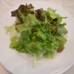 エルマーズグリーンカフェ - キーマカレーのサラダ♪