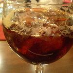 カフェ・ビシュエ - カフェ・グラッセ(飲みかけではなく最初からこの量)