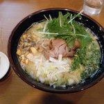 清六家 - 極み鶏ラーメン大盛り(880円)