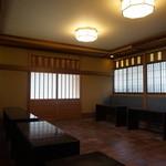 楽羽亭 - 店内 ③ お茶室 立礼式 客席