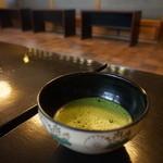 楽羽亭 - 料理 ② お抹茶 アップ♪w