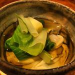 喜の字 - 塩釜の牡蠣の出汁酢
