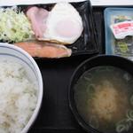 吉野家 - 魚と卵両方食べたい人向け。27.3.28