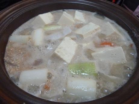 金藤 - どぶ汁(豆腐IN)