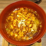 担々麺 錦城 - 麻婆麺(激辛)