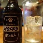 ダンダダン酒場 - 黒ホッピーセット