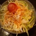茶房 武蔵野文庫 - カレーセットのサラダ