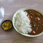 新垣食堂 - ビーフカレー小(500円)