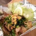 地鶏ガーリックバター焼き