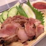 宮崎県産 炭焼き地鶏のたたき