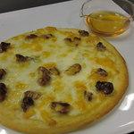カラオケUNO - ブルーチーズのはちみつピザ