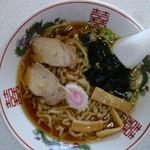若松食堂 - ラーメン(¥550税込み)