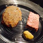 36514111 - アミューズ:リエット・お肉のテリーヌ