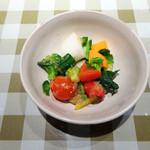 カレンダー - ジャーの中に島根県の元気野菜