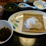 庄庵 - 真っ白くて細い更科蕎麦