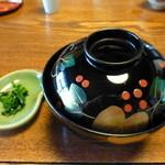 庄庵 - 蕎麦湯