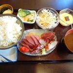 魚がし - 刺身定食