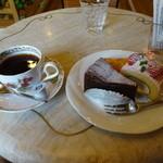 ウインドミル - ケーキセット