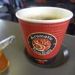 菓匠 右門 - 東北新幹線車内販売のコーヒー