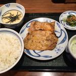 ねぎし - 豚ロース定食