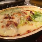 中目黒 ビヰルキッチン - カキのチーズグラタン